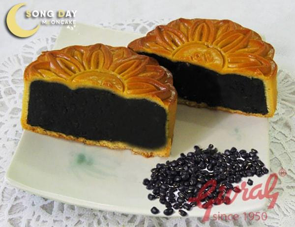bánh trung thu givral đậu đen chay