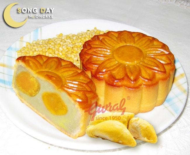 Bánh nhân ngọt đậu xanh sầu riêng của Givral