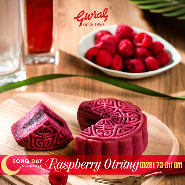 Bánh Givral Raspberry 0 trứng